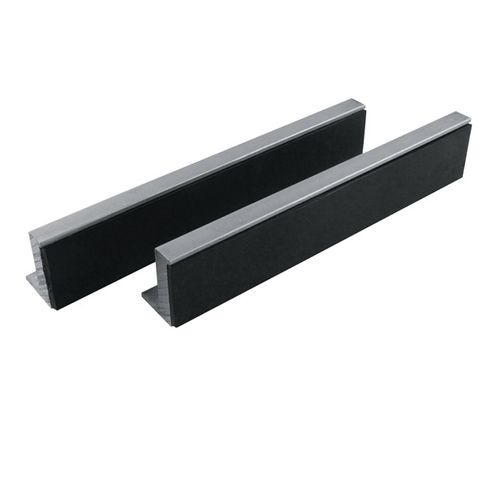 ITM SOFT VICE JAWS MAGNETIC, RUBBER FACE 125MM