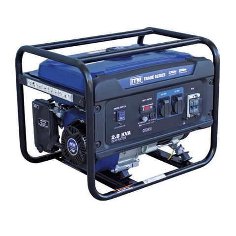 ITM 2.8KVA GENERATOR PETROL, 2300 WATT PEAK RECOIL START