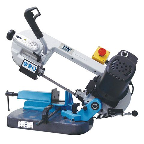 ITM PORTABLE BANDSAW, 125MM CAP, SWIVEL HEAD, VARIABLE SPEED 240V