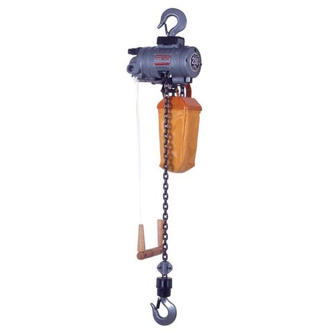 NPK 250KG AIR HOIST C/W 3M LIFT PULL CORD