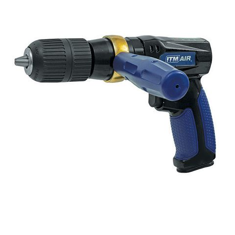 "ITM AIR DRILL, 1/2"" KEYLESS CHUCK, 700 RPM"