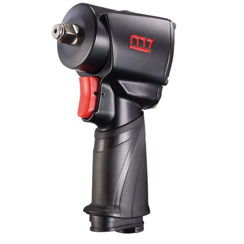 "M7 IMPACT WRENCH, PISTOL STYLE, 104MM LONG, 1/2"" DR, 650 FT/LB"