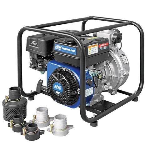 ITM WATER PRESSURE PUMP PETROL TWIN IMPELLER 7HP 50MM 17,000 L/H
