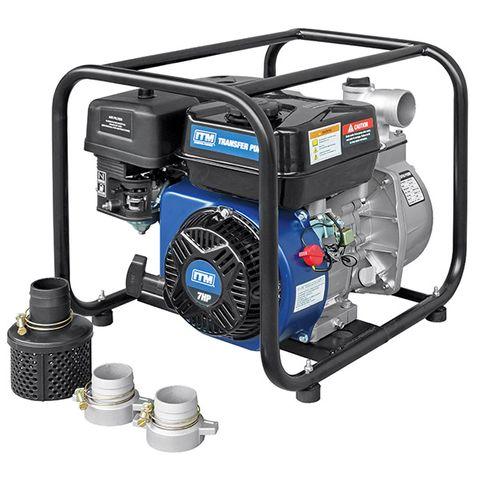 ITM WATER TRANSFER PUMP PETROL 7HP 50MM 28,000 L/H