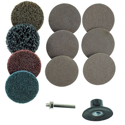 M7 2' SURFACE CONDITIONING DISC KIT (12 PCS), SLIDE BLISTERS PACK