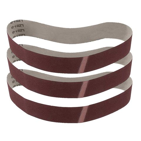 SANDING BELT ALUM. OXIDE 3PK 80 GRIT 915X50MM TO SUIT PO362 MULTITOOL