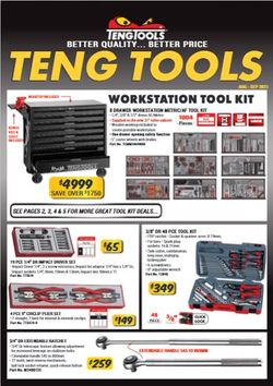 Teng Tools Monthly Sales