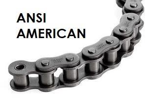 ANSI American Standard Chain