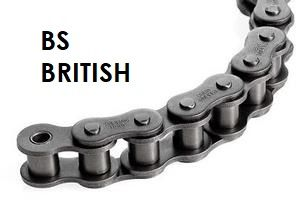 BS British Standard Chain