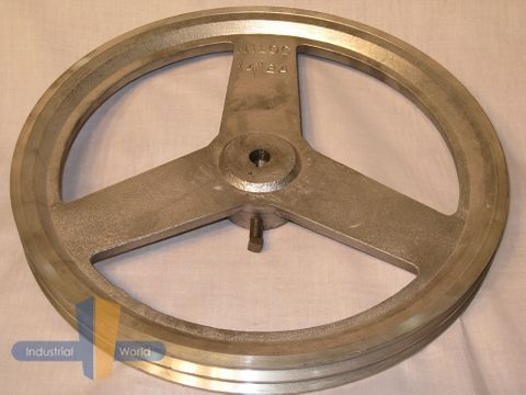 ALUMINIUM PULLEY 14 inch (355.60mm) - 2 row