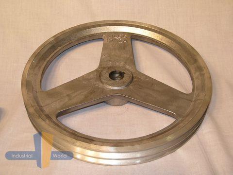 ALUMINIUM PULLEY 12 inch (304.80mm) - 2 row