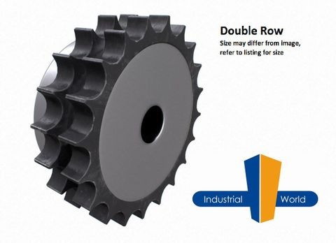 06B2 (3/8)-BOSSED SPROCKET-18 TEETH-2 ROW
