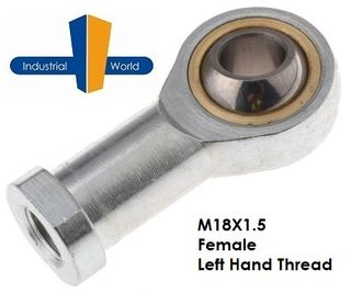 FEMALE METRIC LEFT HAND ROD END M18X1.5