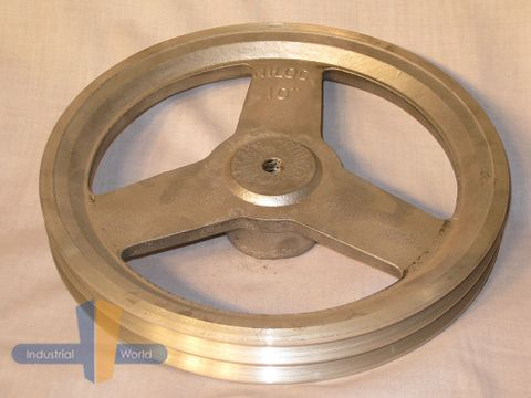 ALUMINIUM PULLEY 10 inch (254.00mm) - 2 row