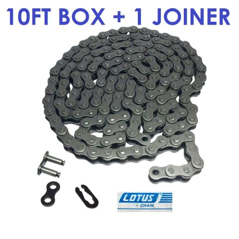 LOTUS ROLLER CHAIN 5/8 - 50H -1 ROW -10FT BOX