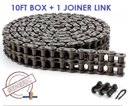 GENERIC ROLLER CHAIN 1/2- 08B -2 ROW -10FT BOX