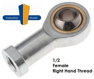 FEMALE IMPERIAL RIGHT HAND ROD END 1/2 INCH