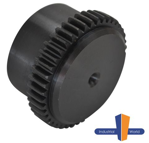 Curved Tooth Gear Coupling Half