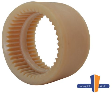 Curved Tooth Gear Coupling - Nylon Sleeve
