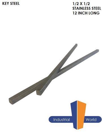 Key Steel 1/2 x 1/2 Inch