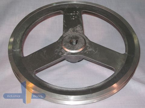 ALUMINIUM PULLEY 10 inch (254mm) - 1 row