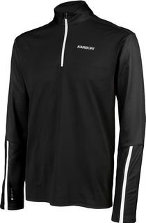 KARBON ATLAS MENS SKIVVY - BLACK