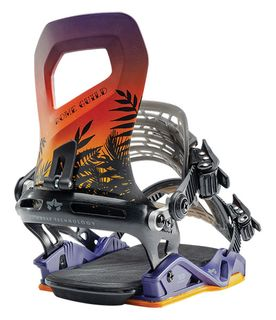 ROME 20 GUILD WOMENS SNOWBOARD BINDING  - TROPICAL - S