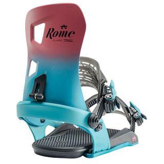 ROME 20 FLARE WOMENS SNOWBOARD BINDING  - BERRY