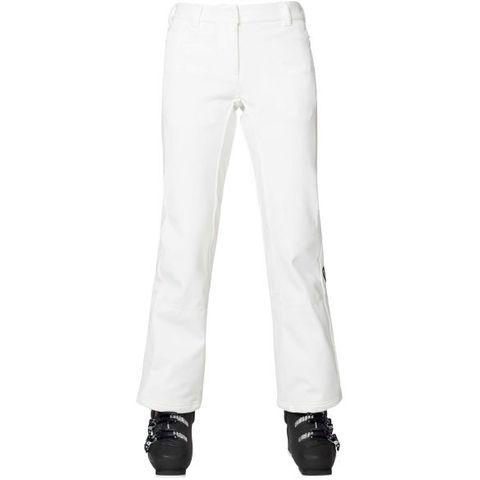 ROSSIGNOL SKI SOFTSHELL PANT - WHITE - S