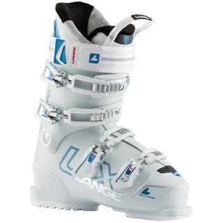 LANGE 20 LX 70 W WOMENS SKI BOOT -  WHITE/BLUE - 24.5