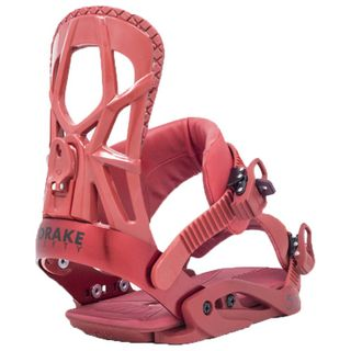 DRAKE 20 FIFTY SNOWBOARD BINDING - RED - M