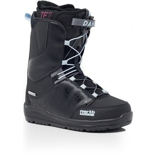 NORTHWAVE 20 DAHLIA WOMENS SNOWBOARD BOOT - BLACK - 24.5
