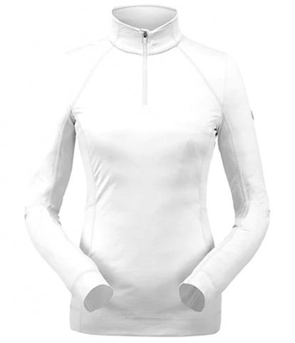 SPYDER SAVONA WOMENS SKIVVY - WHITE - XS