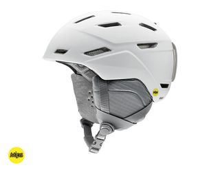 SMITH MIRAGE WOMENS HELMET, MIPS, MATTE WHITE, M