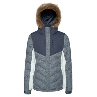 PROTEST WOMENS JACKET WINTER, GRUNGE BLUE, S