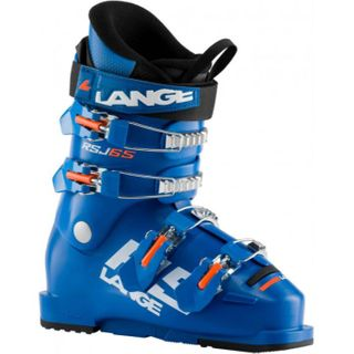 LANGE JUNIOR BOOTS RSJ 65, POWER BLUE/ORANGE