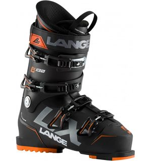LANGE LX 130 MENS BOOT - BLACK/ORANGE