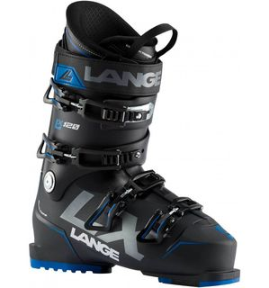 LANGE LX 120  MENS SKI BOOT - BLACK/BLUE/BLUE