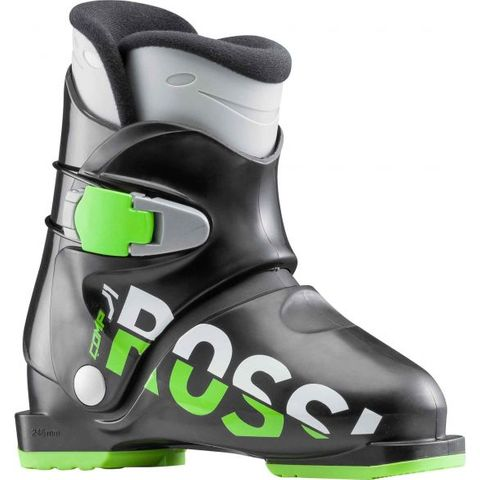 ROSSIGNOL KIDS BOOT J1 BACK/GREEN 15.5
