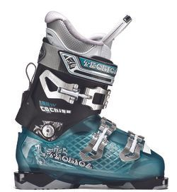 TECNICA WOMENS BOOT COCHISE 100 W , BLACK/TEAL, 25.5