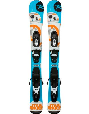 ROSSIGNOL STAR WARS BABY 2018 KIDS SKIS WITH BINDINGS - SIZE 92