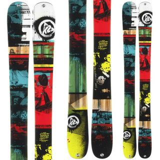 K2 BAD APPLE KIDS SKIS