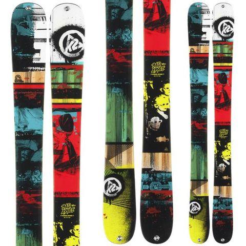 K2 BAD APPLE KIDS SKIS - 139cm
