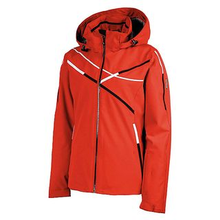 KARBON RUBY WOMENS JACKET, TOMATO, 14