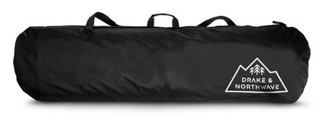 DRAKE BASIC BOARD BAG, BLACK, 160