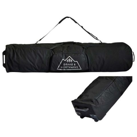 DRAKE SNOWBOARD BAG WHEELS, BLACK, 170