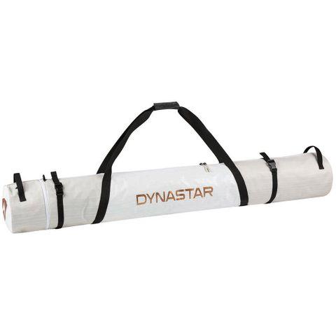 DYNASTAR INTENSE ADJUSTABLE SKI BAG, WHITE/BRONZE, 150-170