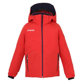 PHENIX NORWAY ALPINE TEAM KIDS JACKET - FL RED - SIZE 2 -6