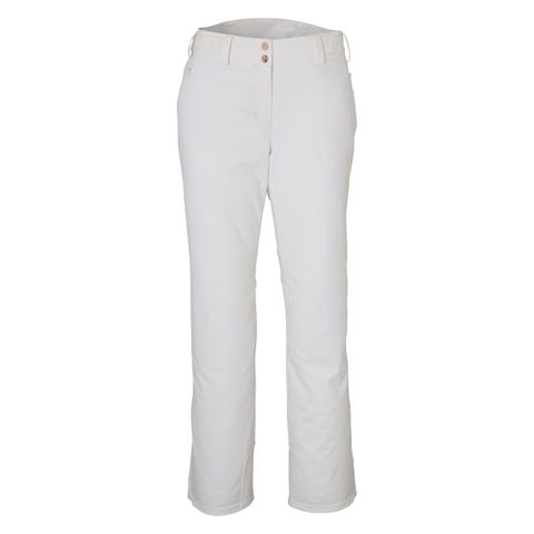 PHENIX OPAL WOMENS PANTS - OFF WHITE - SIZE 10