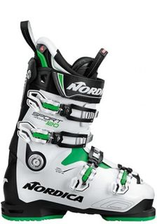 NORDICA SPORTMACHINE 120 MENS SKI BOOTS - BLACK/ANTHRACIDE/RED